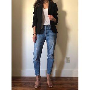 Zara Woman Black Structured Career Blazer